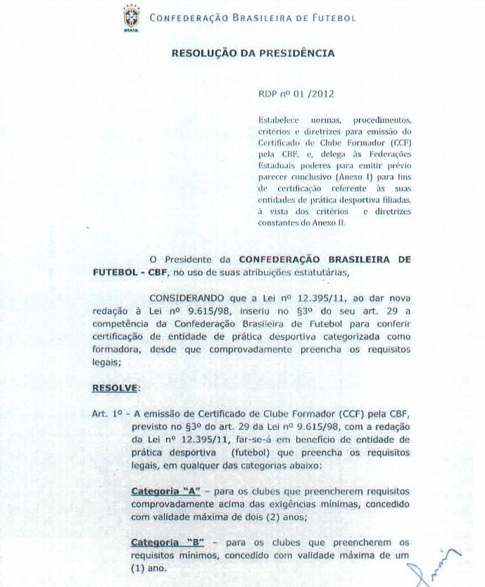 Documentos sugerem que CBF ec75183c747ea